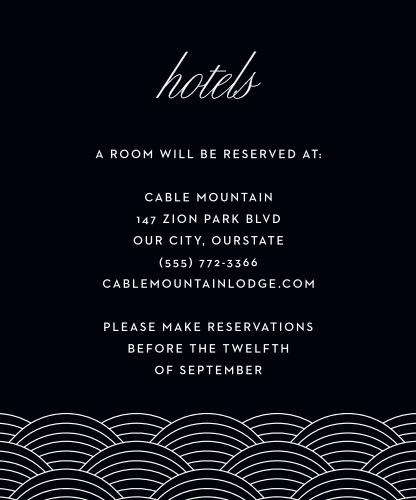 Las Vegas Skyline Accommodation Cards