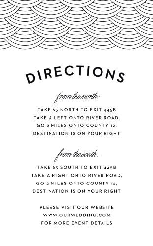 San Diego Skyline Direction Cards