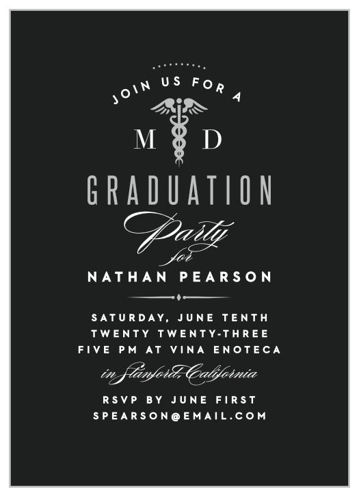 Graduation Announcement Physician Graduation Nurse Invite Doctor Graduation Invitation Doctor Announcement Medical Graduation Invite