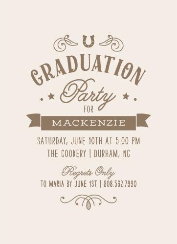 2019 Graduation Party Invitations