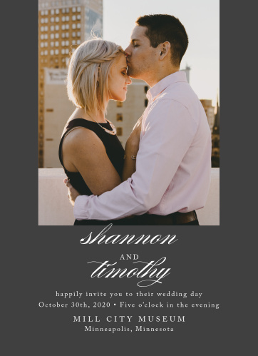 Simply Scripted Wedding Invitations