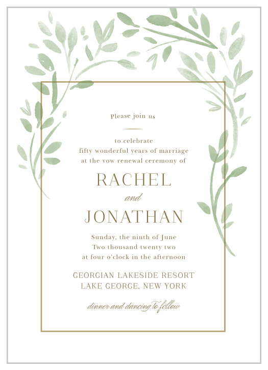 picture about Free Printable Vow Renewal Invitations identify Vow Renewal Invites Renew Your Get pleasure from with Uncomplicated Invite