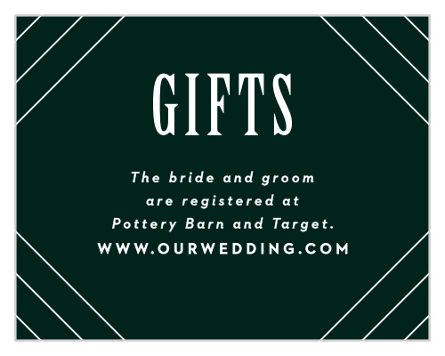 What To Put On A Wedding Registry.Customizable Wedding Registry Cards By Basic Invite