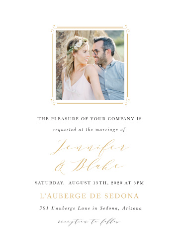 Country Estate Wedding Invitations