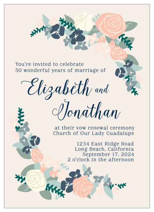 image regarding Free Printable Vow Renewal Invitations referred to as Vow Renewal Invites Renew Your Enjoy with Straightforward Invite