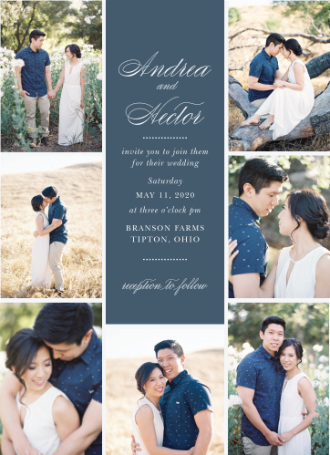 Buttoned Up Wedding Invitations