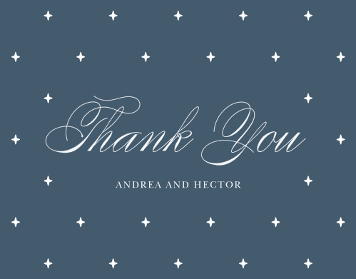 Buttoned Up Wedding Thank You Cards