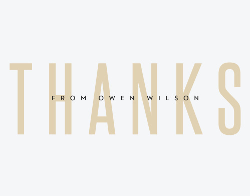 Subtle Overlay Graduation Thank You Cards