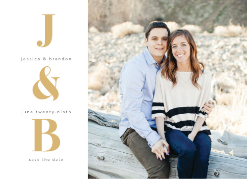 Bold Date Wedding Invitations
