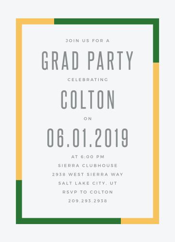 2019 Graduation Party Invitations Super Cute Easy To Design