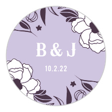 Personalized Wedding Stickers | Wedding Favors Stickers by
