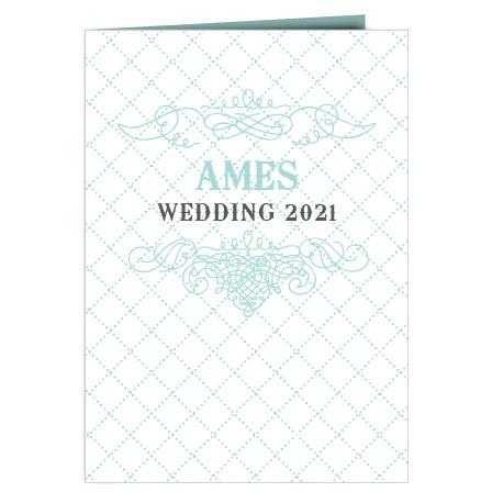 Vintage Flourish Wedding Programs