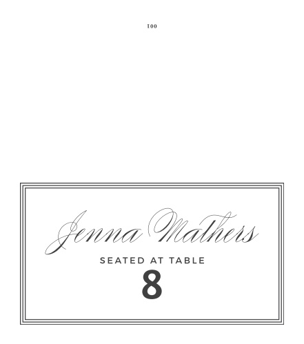 MaeMae's Bruno Place Cards
