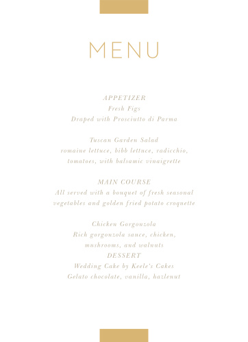 image about Printable Wedding Menus named Wedding day Menus Style Your Menu Abruptly On the internet! - Uncomplicated