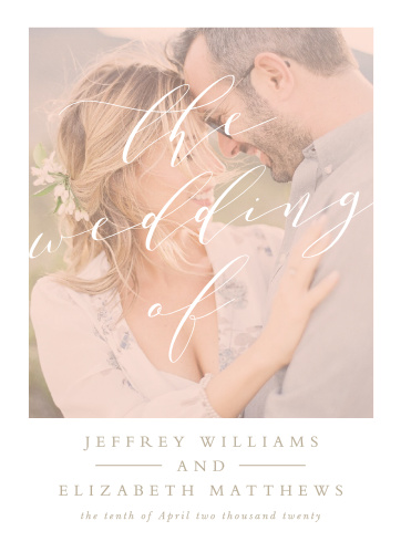 Modern Polaroid Wedding Invitations