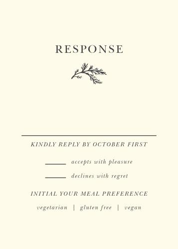Modern Honor Response Cards