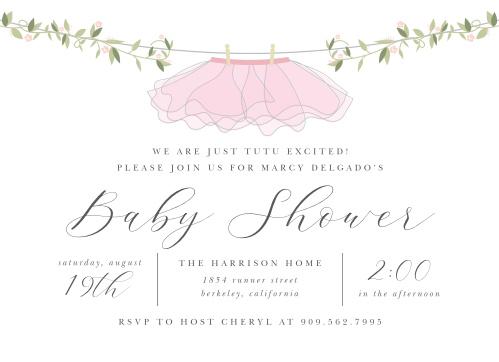 7e1f04aef Baby Shower Invitations | 40% Off Super Cute Designs - Basic Invite