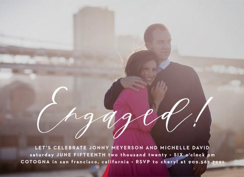 Engagement Party Invitations 15 Off Super Cute Designs Basic Invite