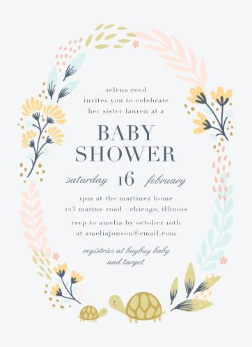 195c86d7c Baby Shower Invitations for Girls - Basic Invite