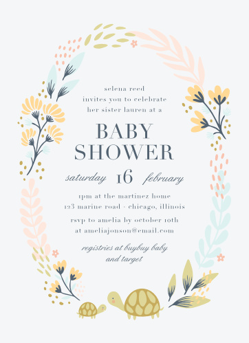 0f4c6a925 Baby Shower Invitations for Girls - Basic Invite