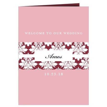The Completely Centered Wedding Programs