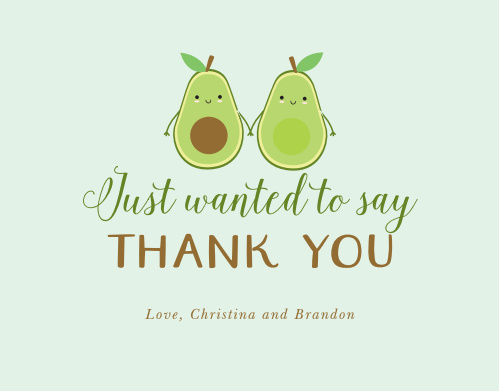 A New Seed Baby Shower Thank You Cards