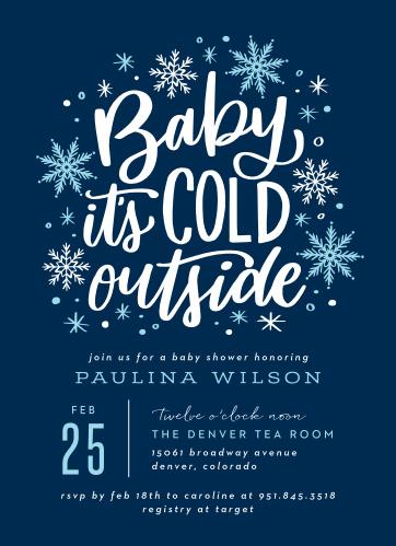 104b1b7549e Baby Shower Invitations for Boys - Basic Invite