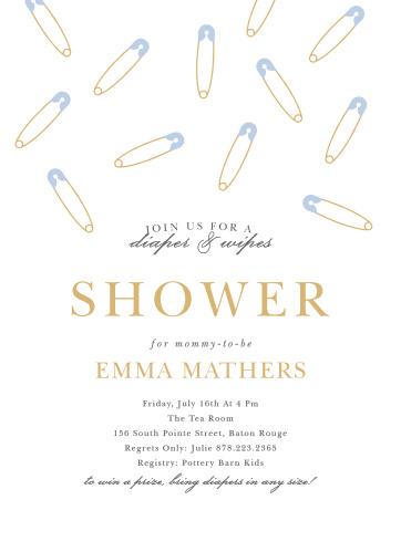 459f6b542928 Baby Shower Invitations for Boys - Basic Invite