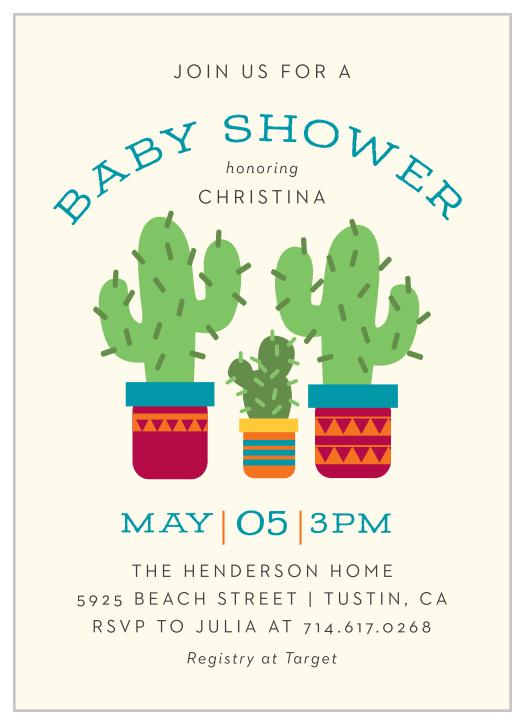 Fiesta Baby Shower Invitation Couples Baby Shower Invitation Rustic Southwestern Invitation