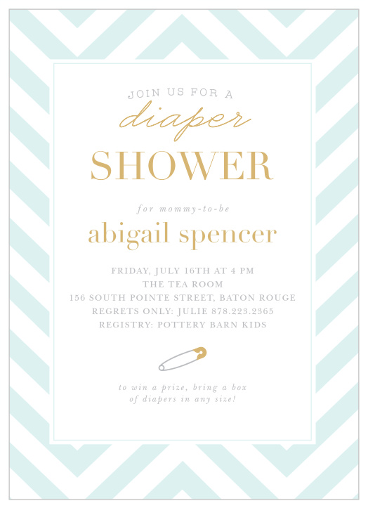 photo about Free Printable Diaper Party Invitations named Diaper Kid Shower Invites - Game Your Coloration Style and design Absolutely free!