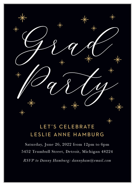 2020 Graduation Party Invitations | Super Cute & Easy To Design ...