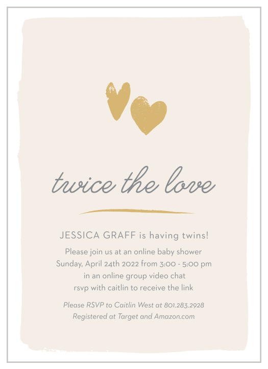 It's just a photo of Free Printable Twin Baby Shower Invitations for theme request