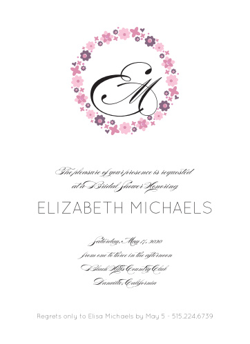994585a03 Bridal Shower Invitations   Wedding Shower Invitations