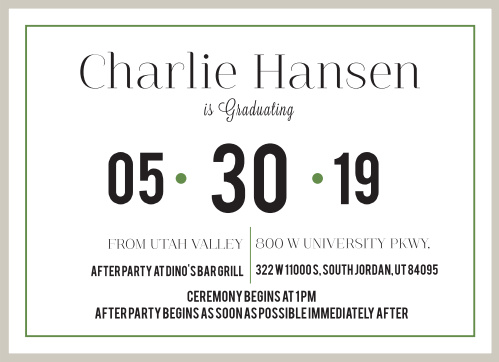 c33b3e6ade0 2019 Graduation Announcements   Invitations For High School and ...