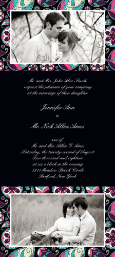 Forever Paisley Wedding Invitations