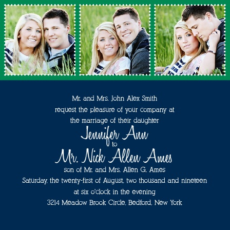 Dotted Devotion Wedding Invitations