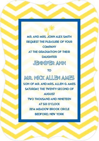 Tropical Dream Wedding Invitation