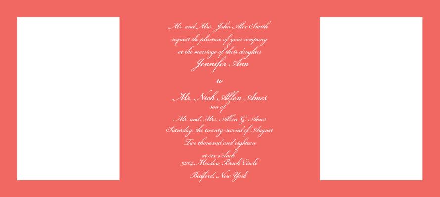Photo Perfection Wedding Invitations