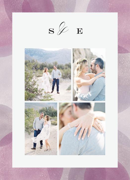 Modern Photo Collage Wedding Invitations