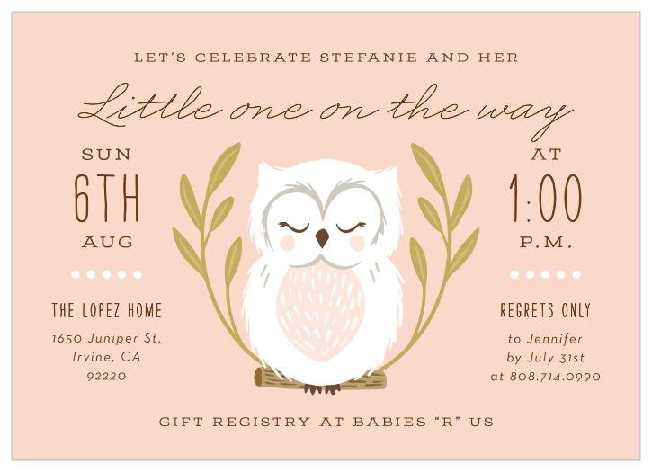 EDITABLE Girl Owl Baby Shower Invitation Set Owl Baby Shower Package Grey Pink Blush Owl Baby Shower Set Girl Owl Baby Shower Invitation