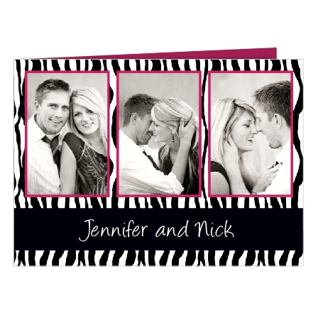Uniquely Yours Patterned Wedding Invitations