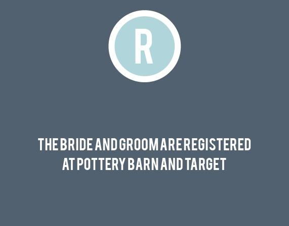 The Circled Monogram Registry Cards