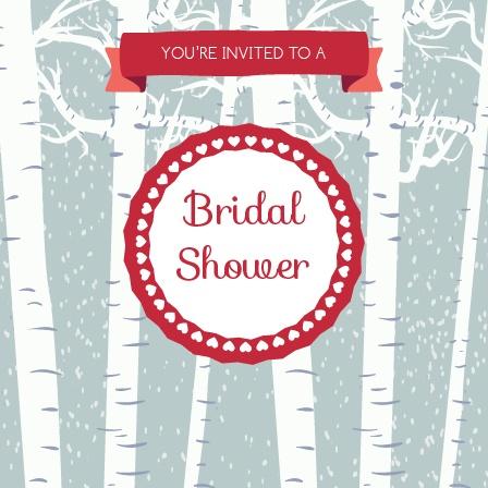 forest bridal shower invitation