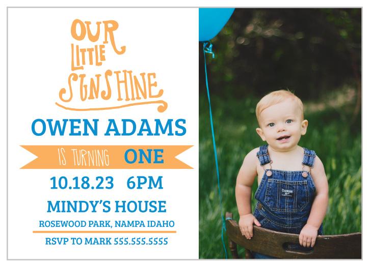 First Birthday Invitations | 40% Off Super Cute Designs