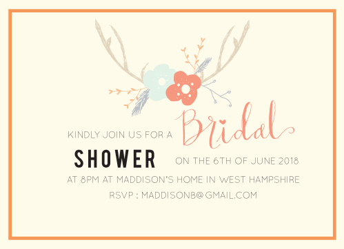 77b8736eb3c1 Bridal Shower Invitations   Wedding Shower Invitations