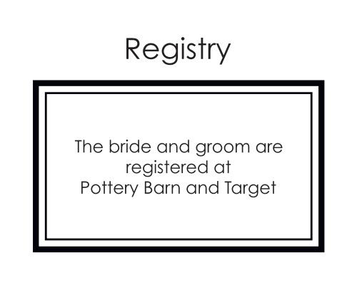 Formal Photo Registry Cards
