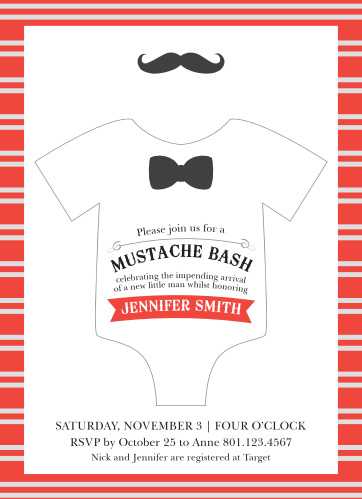 photograph regarding Free Printable Mustache Baby Shower Invitations titled Mustache Youngster Shower Invites - Recreation Your Coloration Structure
