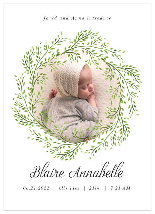 Baby infographics Peque\u00f1os pajaritos baby animated Video card Newborn Announcement Anuncio bebe recien nacido little birds