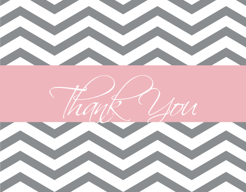 baby boutique baby shower thank you cards