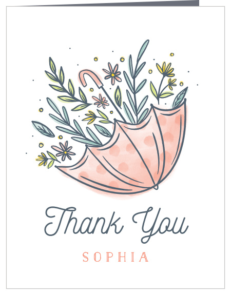 Thank You Letter For Baby Shower.Baby Shower Thank You Cards Match Your Color Style Free Basic